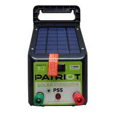 Ps5 Solar Fence Charger 4v 0 05j Patriot