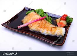 Gindara Teriyaki Grilled Black Cod Fish ...