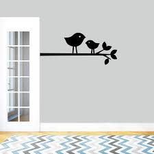 Sweetumswalldecals Birds On A Branch Wall Decal Wayfair