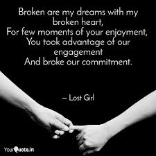 broken are my dreams quotes writings by lost girl