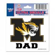 Missouri Tigers Stickers Decals Bumper Stickers