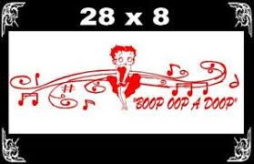 Betty Boop Tribal Cute Girl Heart Decal Vinyl Graphic Hood Side Car Truck Ushirika Coop