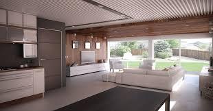 house design with open floor plan