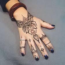 easy henna tattoo ideas for beginners