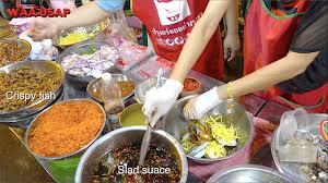 Fresh Seafood Crab Mango Spicy Salad ...
