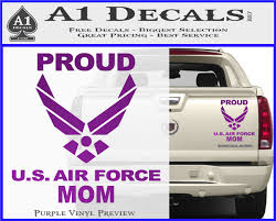 Proud Air Force Mom D2 Decal Sticker A1 Decals