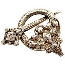 tara celtic brooch sterling silver