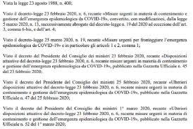 Dpcm Fase 2 Coronavirus 26 aprile 2020: scarica testo completo in Pdf