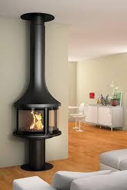 wall mounted fireplace