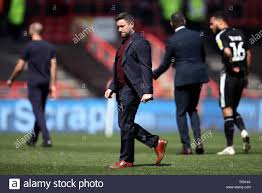 Bristol City manager Lee Johnson after the Sky Bet Championship ...