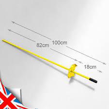 Lacme 3ft Tall Solid Metal Fence Post Pins Stakes Quantity Choice Piquet Uk Ebay