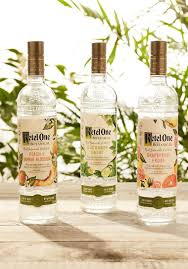vodka from ketel one has fewer calories
