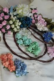flower crowns party kit diy hair