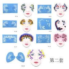 10pcs reusable face body paint