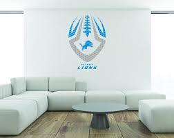 Nfl Wall Decal Etsy