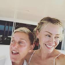 "Ellen DeGeneres Says Portia de Rossi ""Loves Me for Everything That I Am""    Martha Stewart"