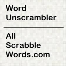 unscrambler unscramble scrabble words