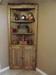 wood pine corner cupboard diy plans
