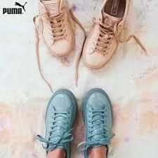 puma basket patent leather platform all