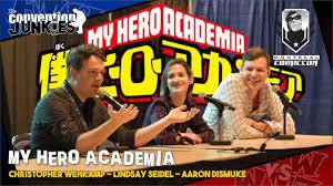 My Hero Academia's Christopher Wehkamp, Lindsay Seidel & Aaron ...