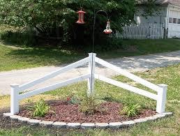 Image Result For Corner Fence Ideas Corner Landscaping Fence Landscaping Garden Yard Ideas