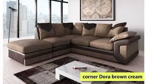 corner sofa dora with footstool