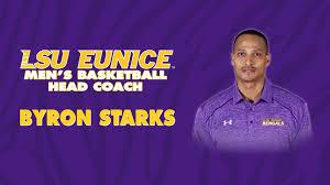 LSUE Names Byron Starks Men's Basketball Head Coach - LSU Eunice Athletics