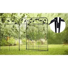 Buy Amagabeli Decorative Fence Gate Best Garden Fence Gate Online