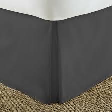 twin bedskirt extra long 21 drop navy