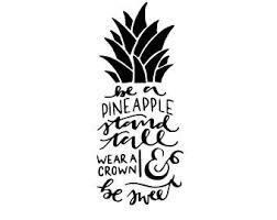 Pineapple Decal Etsy
