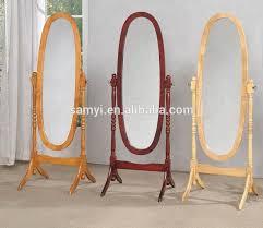 wooden cheval mirror wooden