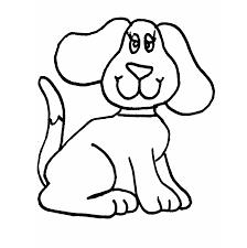 Tranh tô màu con chó cho bé 3 tuổi trong 2020 | Trang tô màu, Hello kitty,  Mèo kitty