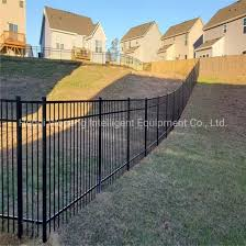 China 6 8 Feet High Adjustable Fence Hill Side Slope Picket Fence Boundary Fence China Fence Fence Panel