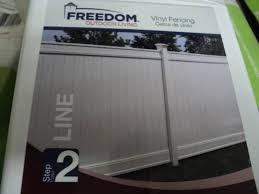 3 Freedom Vinyl Fencing Emblem Line Electronics Trex Decking Blinds Carpet Household Dvds More K Bid