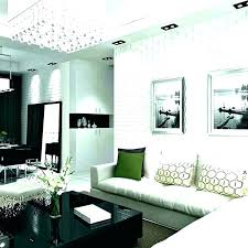 feature wall living room grey wallpaper
