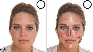 diy a new face contouring with makeup