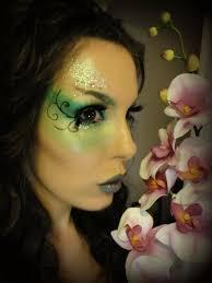 green garden fairy makeup look