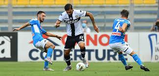 Parma Calcio 1913 GIUSEPPE PEZZELLA DOPO PARMA-NAPOLI 2-1 ...