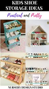 8 Kids Shoe Storage Ideas Nursery Design Studio