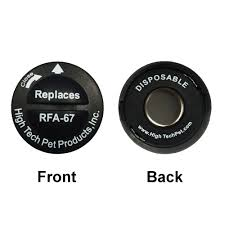 Rfa 67 Petsafe Replacement Collar Batteries By High Tech Pet