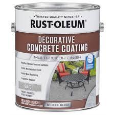 rustoleum 3 78l decorative concrete