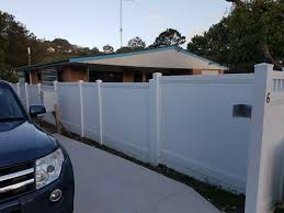 Pvc White Privacy Solid Fence 2 34m Panel Various Heights 100 Australian Made Ebay