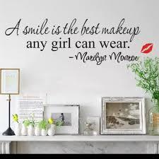 Wall Art Marilyn Monroe Wall Decal Makeup Poshmark