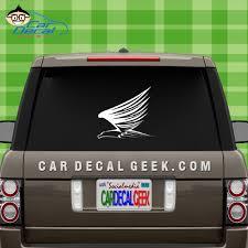 Flying Eagle Vinyl Car Window Decal Sticker Bird Decals