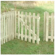Round Top Picket Gate 4 X 3 Wooden Supplies