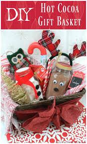diy hot cocoa gift basket