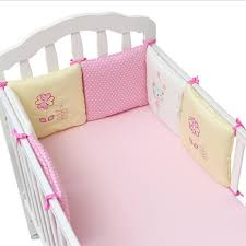 Baby Bed Crib Bumper Detachable Zipper Cotton Newborn Bumpers Infant Safe Fence Line Bebe Cot Protector Unisex New Arrival Leather Bag