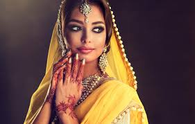 indian makeup and beauty dresses