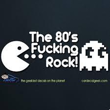 Pac Man 80 S Rock Car Window Decal Sticker Graphic