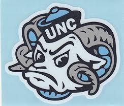 Amazon Com North Carolina Tarheels Mascot Head 4 Vinyl Decal Car Truck Window Sticker Unc Everything Else